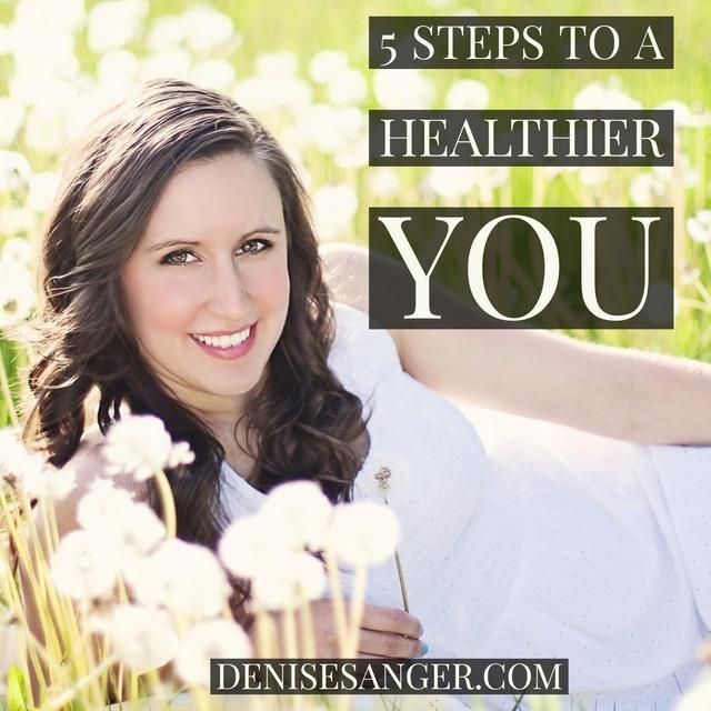 5 steps to a healthier you!