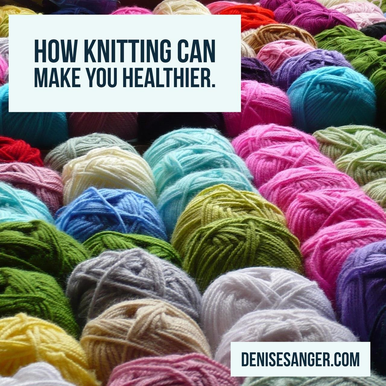 Can Knitting Make You Healthier?