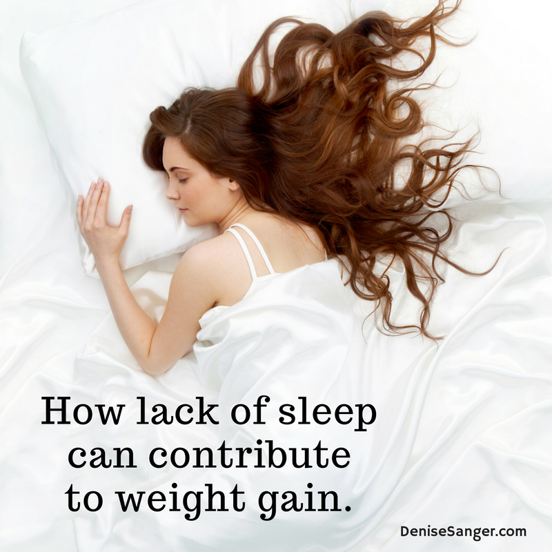 Why lack of sleep contributes to weight gain.