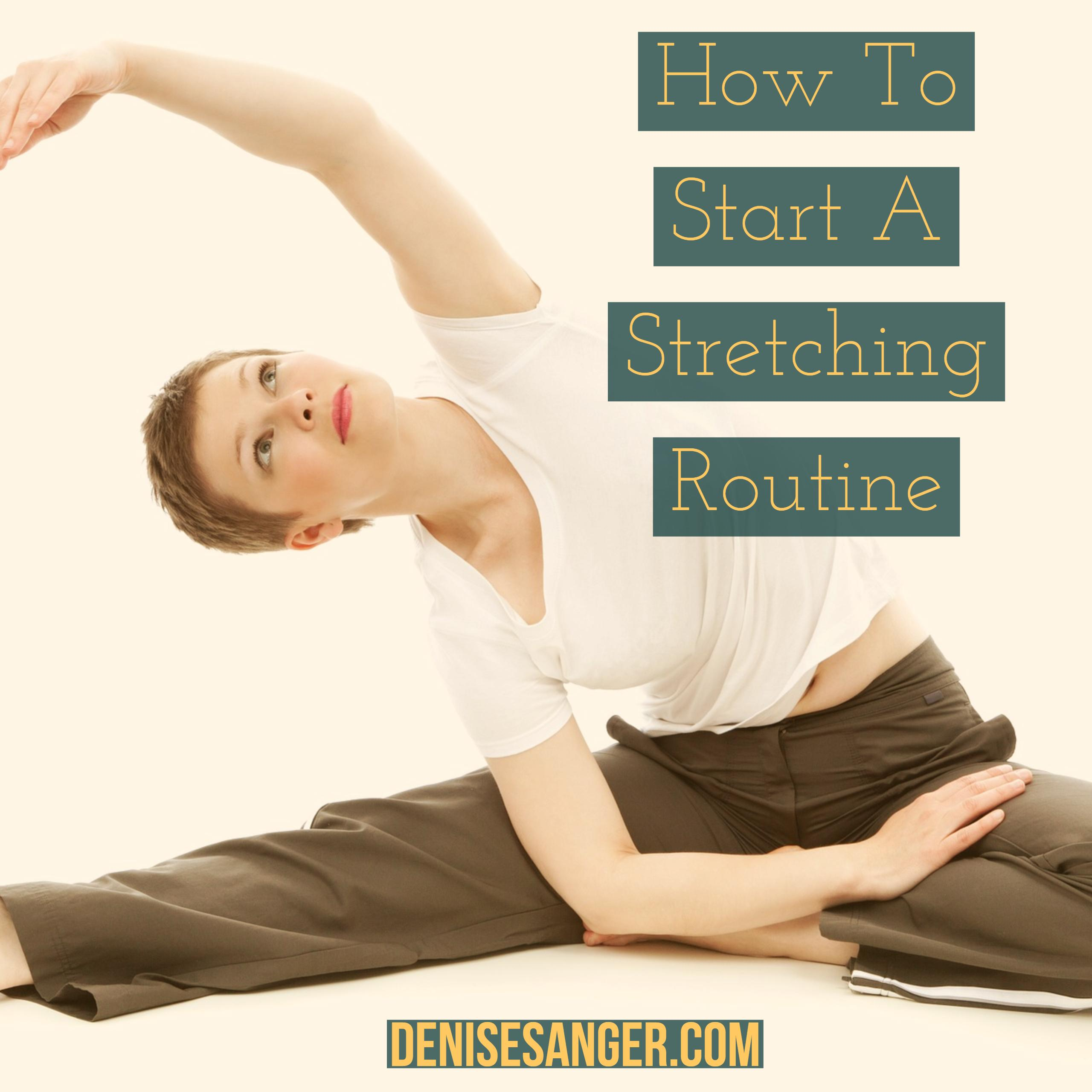 Why You Need To Stretch