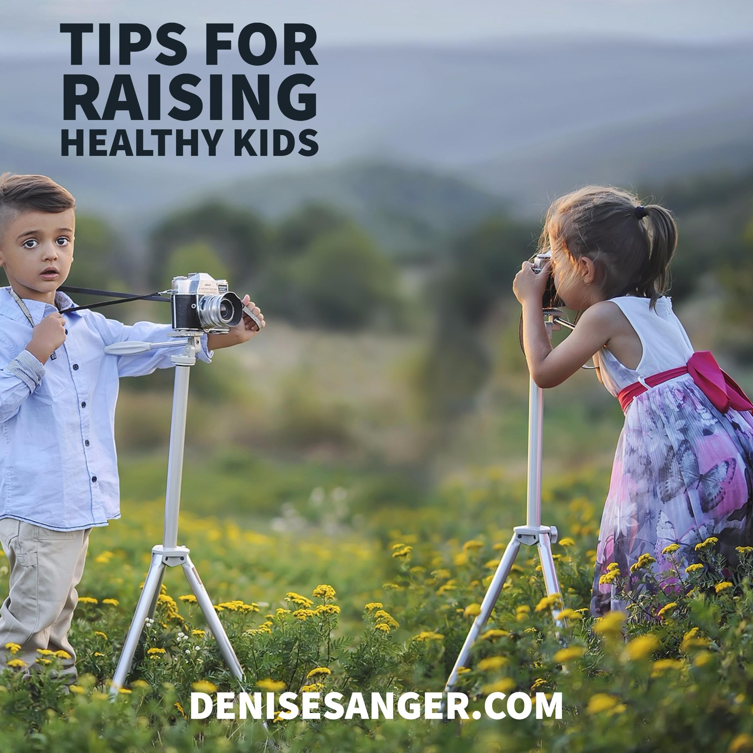 Healthy Living: Tips For Raising Healthy Kids